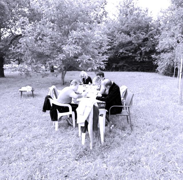 écrire au jardin