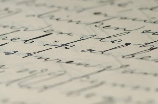 écriture cursive