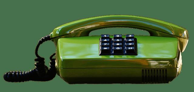 Téléphone vert